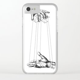 Hands Clear iPhone Case