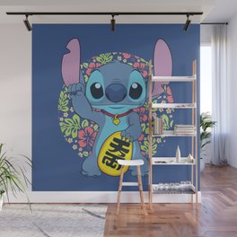 Maneki Stitch Wall Mural