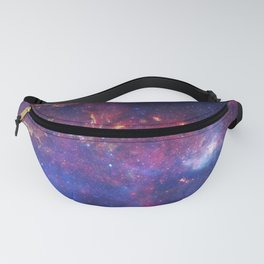 Center of the Milky Way Galaxy IV - Space Art Fanny Pack