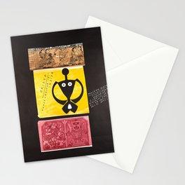retro Plakat orissa kunst kultur in indien Stationery Cards
