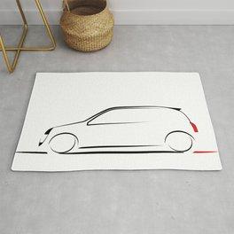 Clio silhouette Rug