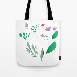 Light Summer Tote Bag