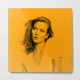 Karlie Kloss Metal Print