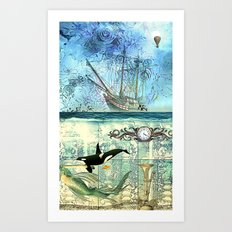 High Tide  - 4:20 Art Print