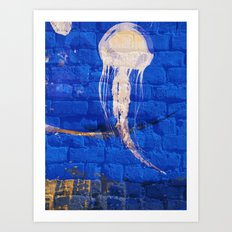 Jelly Bricks Art Print