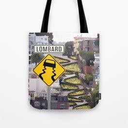Lombard Street - San Francisco Tote Bag