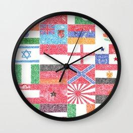 """Organic Nationalism II"" Wall Clock"
