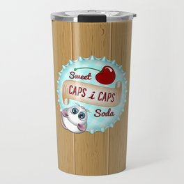 Caps i Caps Travel Mug