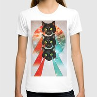 hippy T-shirts featuring Hippy Cats by Lauren Miller