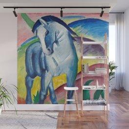 Franz Marc - Blue Horse I Wall Mural