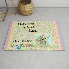 Mary Had a Little Lamb Rug