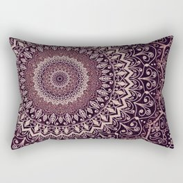 MARSALA MANDALA Rectangular Pillow