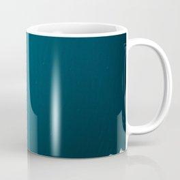 Minimalist Ice Bergs in the blue Ocean - Aerial Photography Coffee Mug