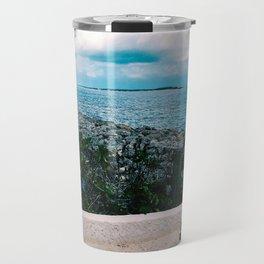 Bahamas break wall Travel Mug