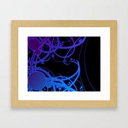 .:Energy Flow:. Framed Art Print