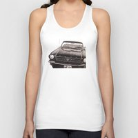 mustang Tank Tops featuring Mustang by Lindsay Carter