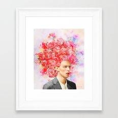 Beautiful Mind - Bowie  Framed Art Print