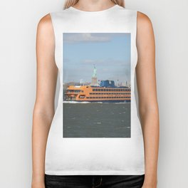 Staten Island Ferry Biker Tank