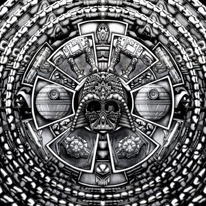 Aztec Darth Space lord iPhone 4 4s 5 5c 6, pillow case, mugs and tshirt Comforters