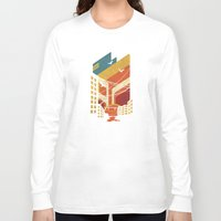 street Long Sleeve T-shirts featuring Street by The Child