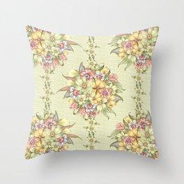 Bouquet Blossom Throw Pillow