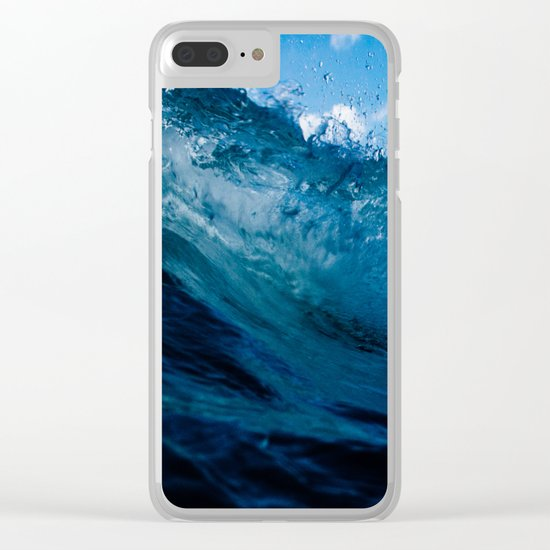 Crashing the Party Clear iPhone Case