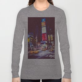 Time Square taxis Long Sleeve T-shirt