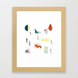 Fridays at the Art Gallery Framed Art Print