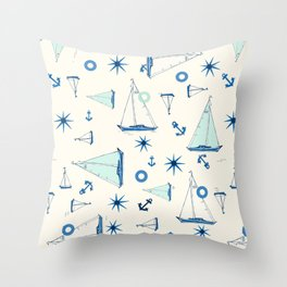 Waipio Valley Beach Throw Pillow