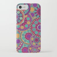 circles iPhone & iPod Cases featuring CIRCLES by Nika