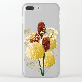 Wild bouquet Clear iPhone Case