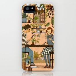 The Botanists iPhone Case
