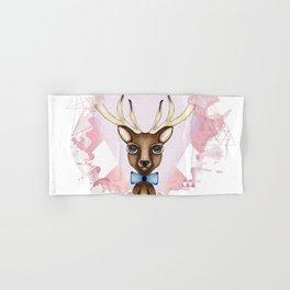 Pink Deer - Ciervo Rosa Hand & Bath Towel