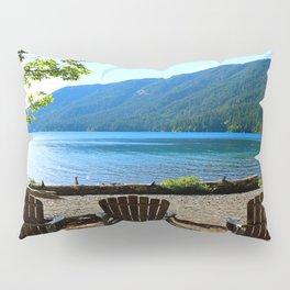 Adirondack Chairs at Lake Cresent Pillow Sham