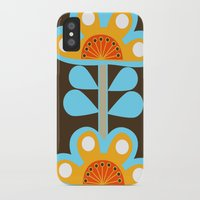 swedish iPhone & iPod Cases featuring swedish flowers by Wee Jock
