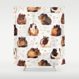 The Essential Guinea Pig Shower Curtain