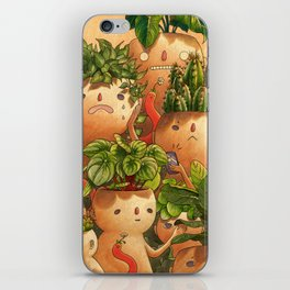 Plant-minded iPhone Skin