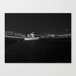 Infrared Sherbrooke Canvas Print