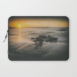 Cabedelo beach in the city of Viana do Castelo, Portugal Laptop Sleeve