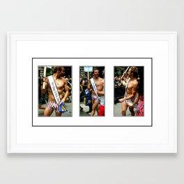Mr. Gay USA Framed Art Print