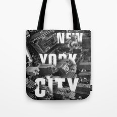 New York City streets Tote Bag