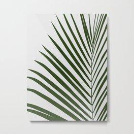 Tropical leaf illustration I Metal Print