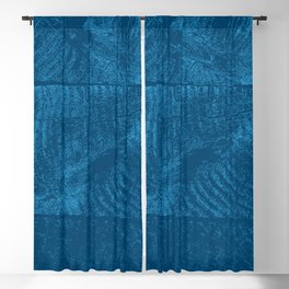 Wood Waves Blackout Curtain