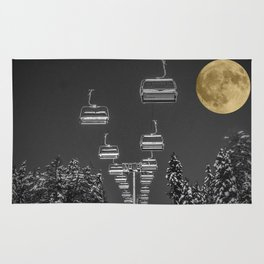 Chair Lift to the Moon Rug
