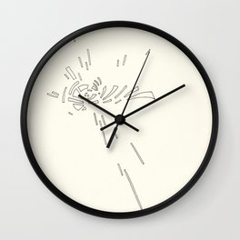 Composition #3 2016 Wall Clock