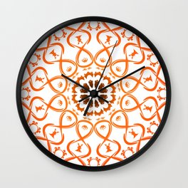 Soul mandala Wall Clock