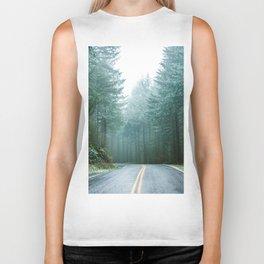 Forest Road Trip Biker Tank