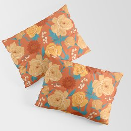 Paint by Number in Orange Pillow Sham