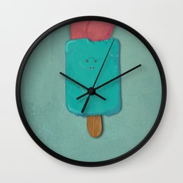 Ice Cream Nightmare Wall Clock