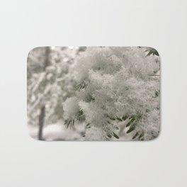 Crystal Snowflakes Bath Mat